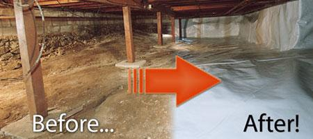 Got Crawlspace Mold?   Safe Mold Solutions : Chapter 3